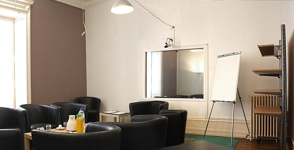 Salle quali pour entretien à Nantes